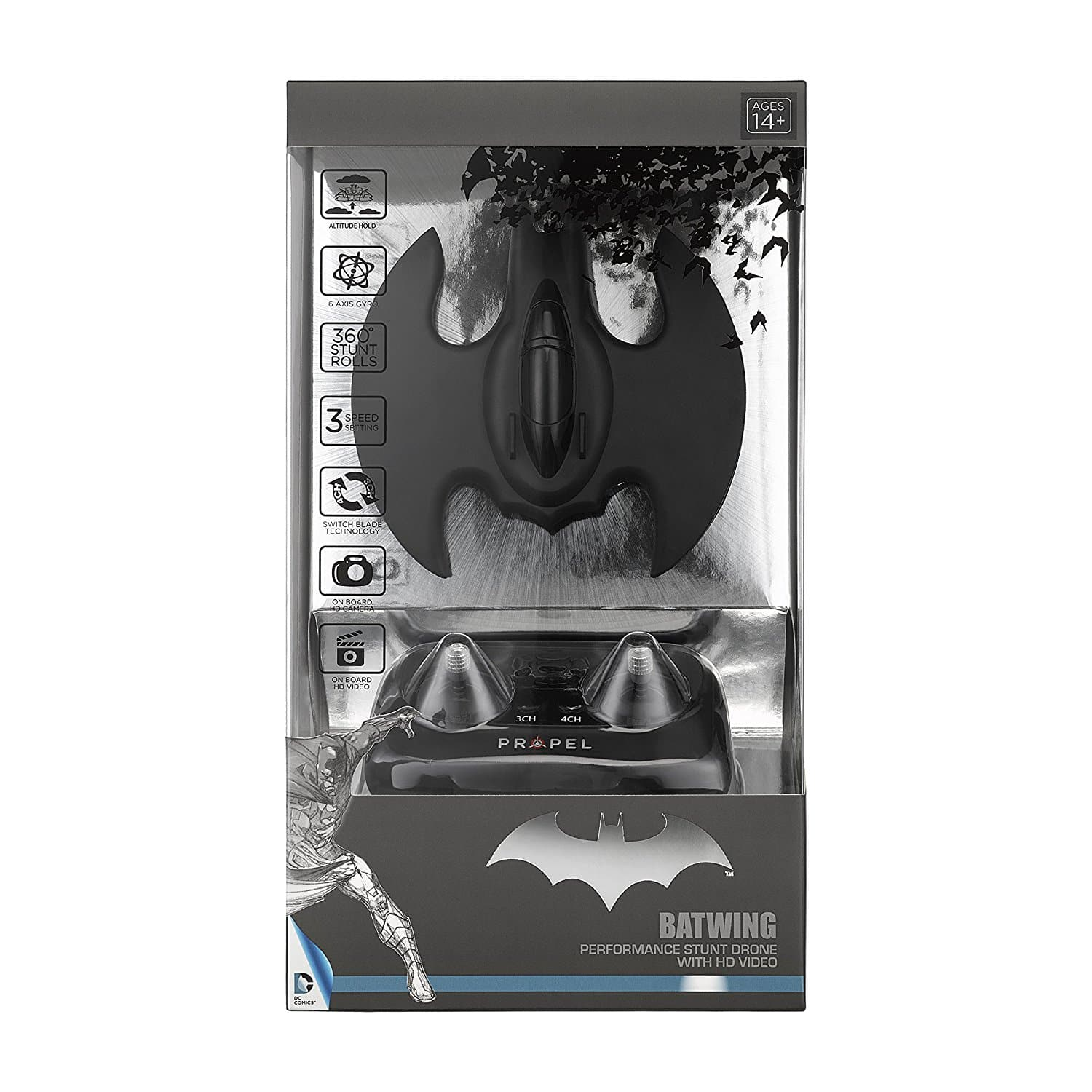 Packaging drone Batman HD